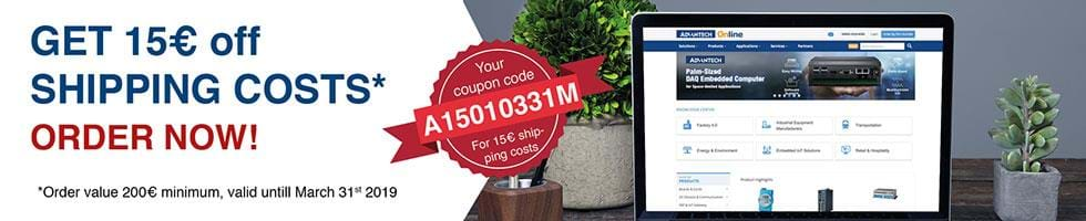 eStore shipping costs promotion
